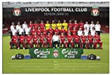 Gloss Laminated Liverpool FC Poster – 2009 / 2010 Team Photo – 91.5 x 61cms (36 x 24 Inches)