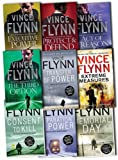 Vince Flynn Vince Flynn Collection Mitch Rapp 9 Books Set Pack New RRP: £62.91 (Executive Power, The Third Option, Protect & Defend, ACT OF TREASON, Separation of Power, Memorial Day, Transfer of Power, Consent to Kill, Extreme Measures)