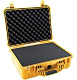 Pelican 1520 Case with Foam for Camera (Yellow)