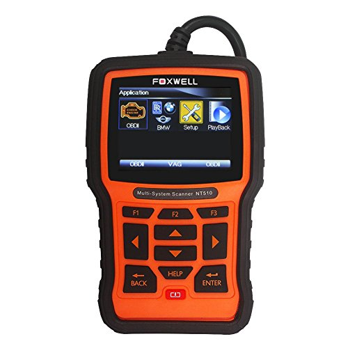 Foxwell NT510 Full-System Diagnostic Scan Tool for Bmw, Mini,Rolls-Royce with CBS Reset, Oil Service Reset, EPB ,DPF and Throttle Body Adjustment Functions (Srs Module Reset compare prices)