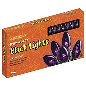 Click to read our review of Outdoor Halloween Lights: Halloween Light Set (32528-73)