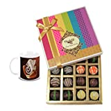 Chocholik Belgium Chocolates - Signature Collection Of Truffles Gift Box With Diwali Special Coffee Mug - Gifts...