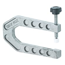 Shop Fox D2804 6-Inch Aluminum Deep Reach C-Clamp
