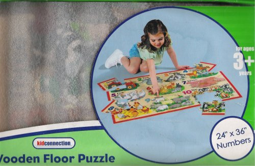 Cheap Kid Connection Wooden Floor Puzzle; Numbers, 24″ x 36″ (B000NKYDIW)
