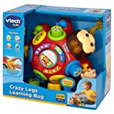 Vtech Crazy Legs Learning Bug with MF® Chenille® Cleaning Glove