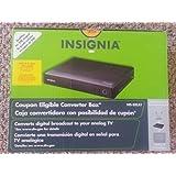 Insignia NS-DXA1 Digital to Analog TV Tuner Converter Box for Regular TV Sets
