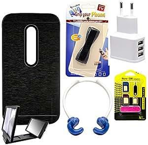 Mify Mobile Accessories for Motorola Moto G, Black