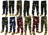 Adults Camo Combat Trousers color - Midnight Camo,size -W34/L32