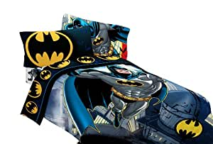 "Batman ""From The Rooftop"" Sheet Set, Twin"