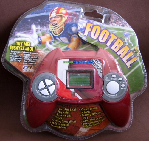 Deluxe Sports Games – Touchdown Football Hand Held Electronic Game by MGA jetzt kaufen