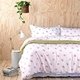 Tiramisu Pink Bedding Set Duvet Cover Set Teen Bedding Dorm Bedding Bedding Collection Gift Idea