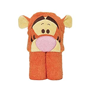 Disney Baby Tigger Novelty Hooded Towel