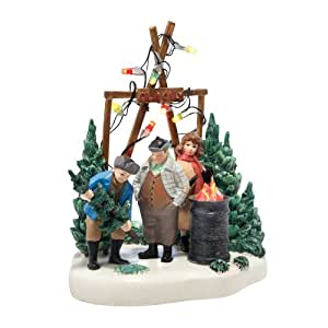christmas story village from department 56 the perfect tree holiday collectible. Black Bedroom Furniture Sets. Home Design Ideas