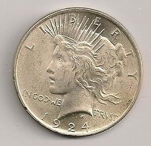 1924-P Silver Peace Dollar