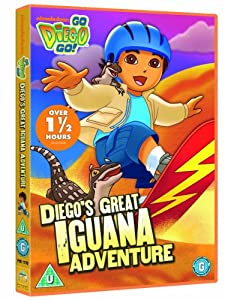 Go Diego Go: Great Iguana Adventure [DVD]