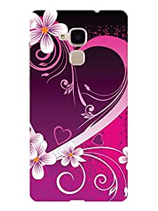 TREECASE Printed Hard Back Case Cover For Huawei Honor 5C