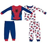 Marvel Kids Boys' Spiderman L/S PJ Set