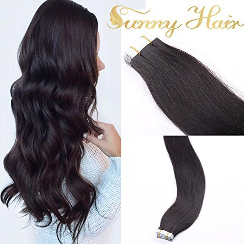 sunny-remy-tape-in-echthaar-extensions-22zoll-55cm-double-drawn-bonding-glatt-dunkelsten-braunfarbe-