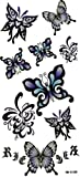 Gorgeous butterfly tattoo sticker Watertight
