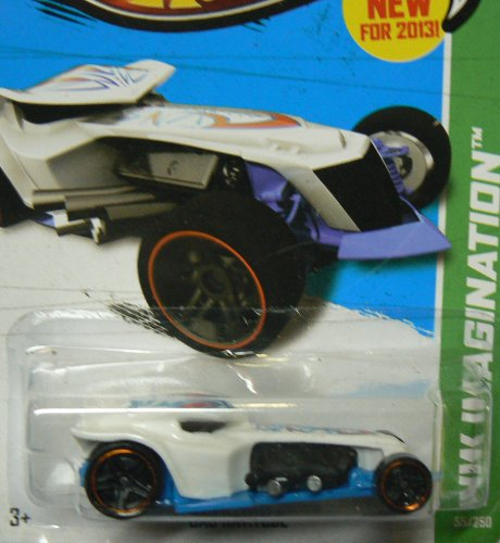 Hot Wheels HW Imagination 55/250 White Bad Ratitude - 1