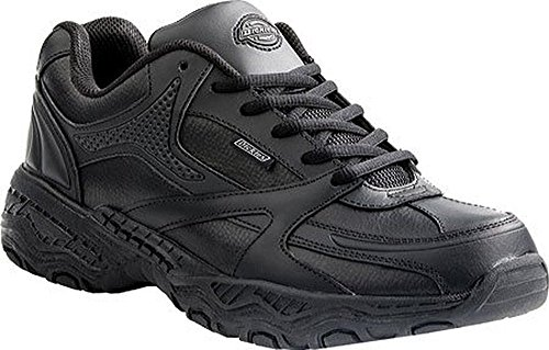 Dickies Women's Rival,Black Leather,US 7.5 W