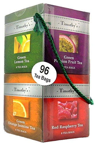Timothy's Tea - 96 Tea Bag Gift Set and Sampler