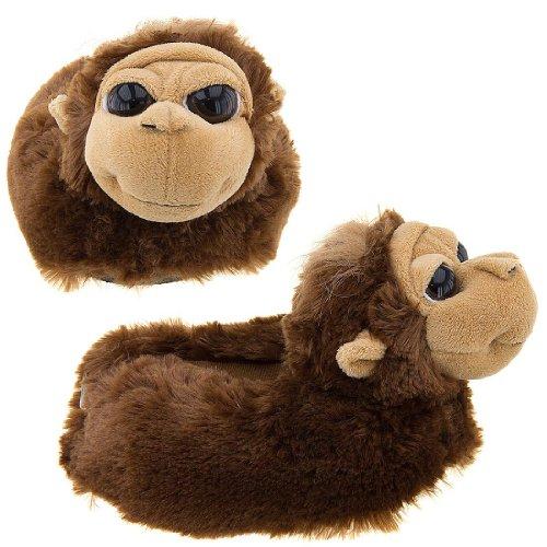 Cheap Orangutan Animal Slippers for Kids (B009TH3BGA)
