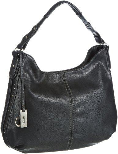 Gabor Rivas Shoulder Bag Womens Black Schwarz (schwarz 60) Size: 41x36x13 cm (B x H x T)