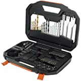 Black & Decker A7187 Titanium Drilling and Screwdriver Bit Accessory Set (100 Piece )