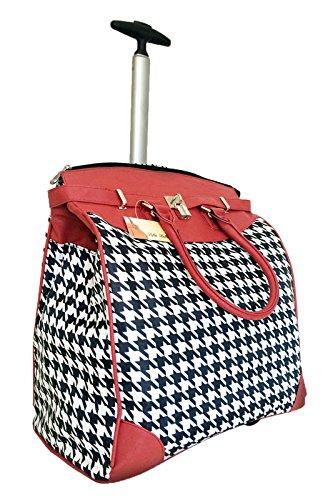 Trendy Flyer Rolling Laptop Bag On Wheels