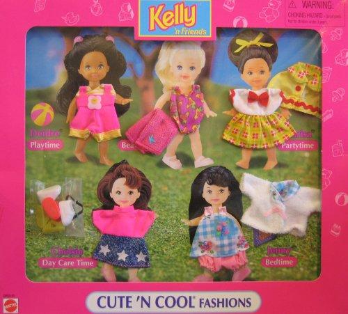 Price Barbie KELLY 'N Friends Cute 'N Cool Fashions Easy ... Cutencool