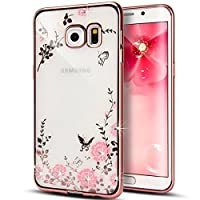 Urberry Samsung Galaxy S6 Cover, Bling Diamond TPU Case for Samsung Galaxy S6 with Free Screen Protector by Urberry