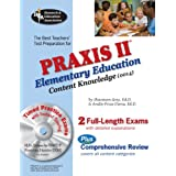PRAXIS II Elementary Ed Content Knowledge 0014 w/CD (REA) (PRAXIS Teacher Certification Test Prep) ~ Shannon Grey