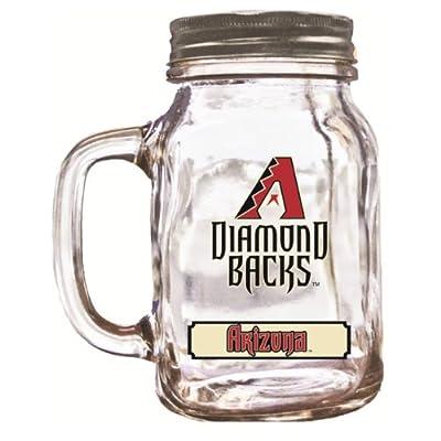 MLB Arizona Diamondbacks Duckhouse 20 Ounce Mason Jar