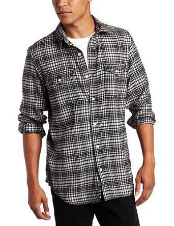 Hurley衬衣海淘:Hurley全棉格子男款长袖衬衫  耐克旗下品牌
