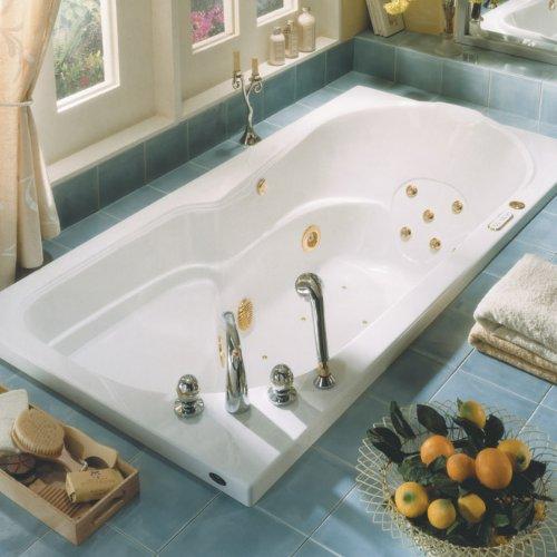 Neptune mara rectangle soaker bath tub 72 x 36 x 21 ma72s for Best soaker tub for the money