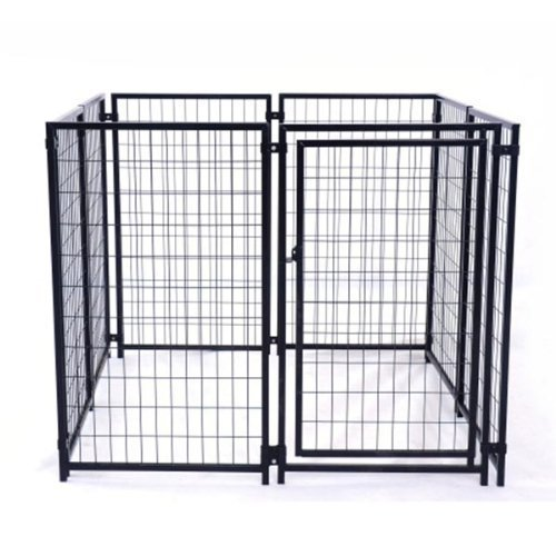 ALEKO® 5'x5'x4' Dog Kennel Heavy Duty Pet Playpen Dog Exercise Pen Cat Fence Run for Chicken Coop Hens House (Chicken Houses And Pens compare prices)