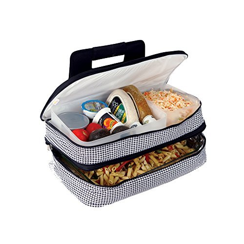 picnic-plus-entertainer-insulated-food-carrier-houndstooth-picnic-plus-psm-721ht-by-picnic-plus