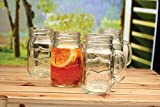 Yorkshire Mason Jar Mug, 17.5 oz., 4 Pieces