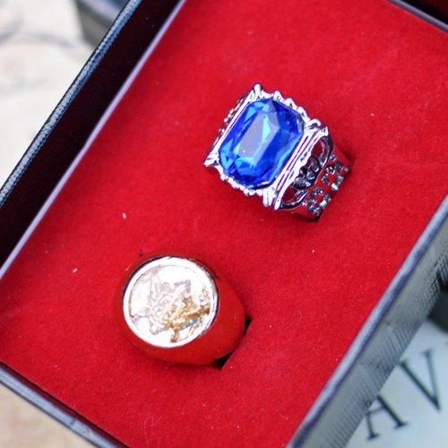 Puntelli di Cosplay anello Black Butler Ciel Phantomhive set 077 (japan import)