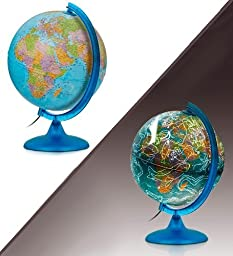 Light-Up Night and Day Globe