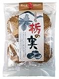 素朴な味わい 八百津せんべい 澤の商 栃の実煎餅(平袋)
