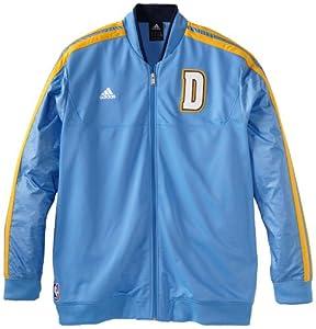 NBA adidas Denver Nuggets On-Court Weekday Full Zip Track Jacket - Powder Blue by adidas