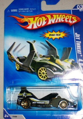 hot wheels purple jet threat 4.0 hw special features 2009 3/10