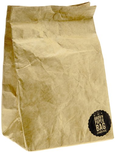 Luckies of London Brown Paper Lunch Bag (USLUKBRW) - 1