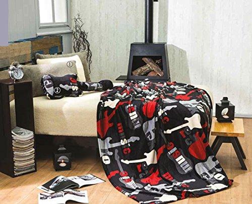 Guitar Fleece Blanket front-723838