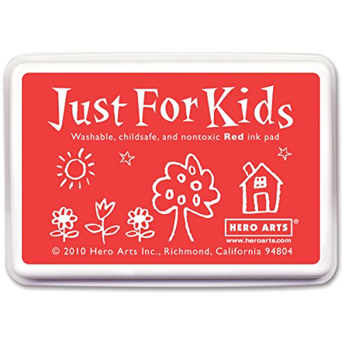 Hero Arts Rubber Stamps Just for Kids, Red