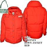 Whitney Down Jacket 7952: Red