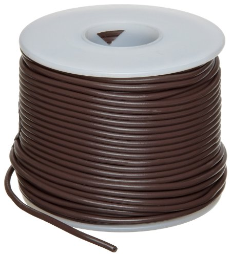 "Gpt Automotive Copper Wire, Brown, 22 Awg, 0.0253"" Diameter, 100' Length (Pack Of 1)"