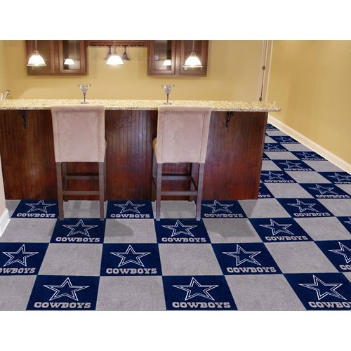 Dallas Cowboys NFL Team Logo Carpet Tiles